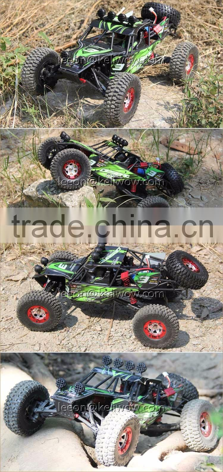 4WD 2.4G Electric Powerful Remote Control Car Brushed/ Brushless High Speed RC Monster Truck With 40-75km/h