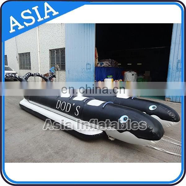 New design customized inflatable banana boat for water sports