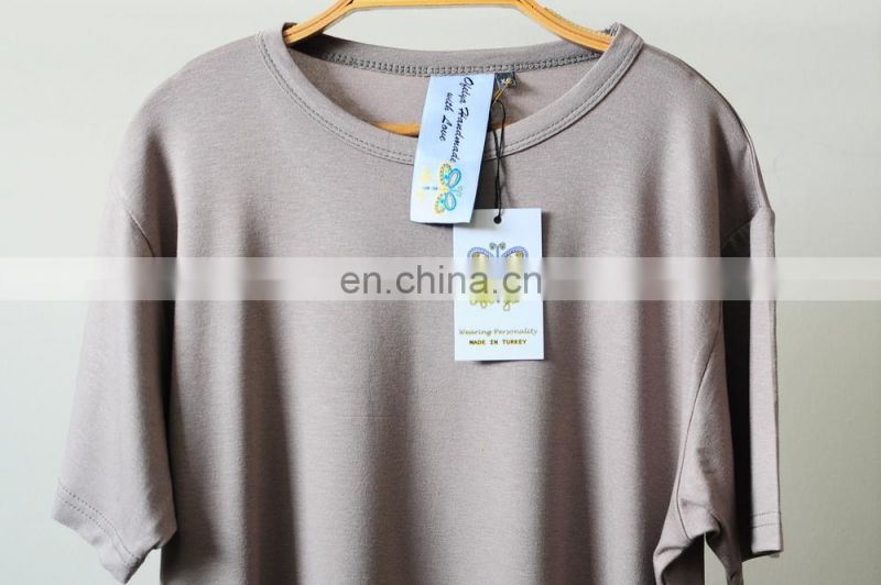 2017 KanyeWest Extended Essential Short Sleeve Oval Hem Long Tee - 90cm