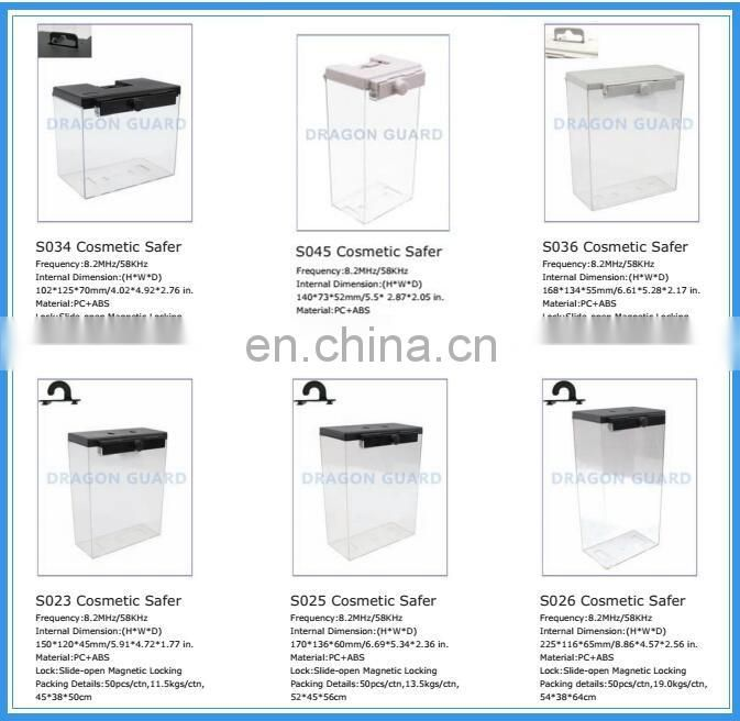 Retail Store Anti-theft Protecting ABS +PC Safer Box, Safer Box, EAS Safer (CE/ISO)