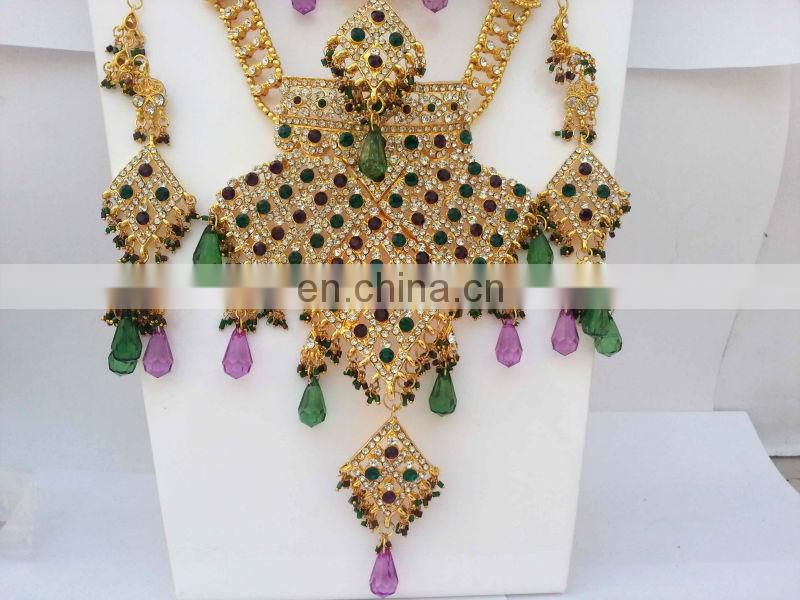 INDIAN BRIDAL JEWELRY SET