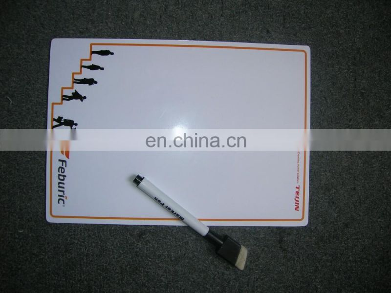 magnetic flexible magnetic whiteboard with pen
