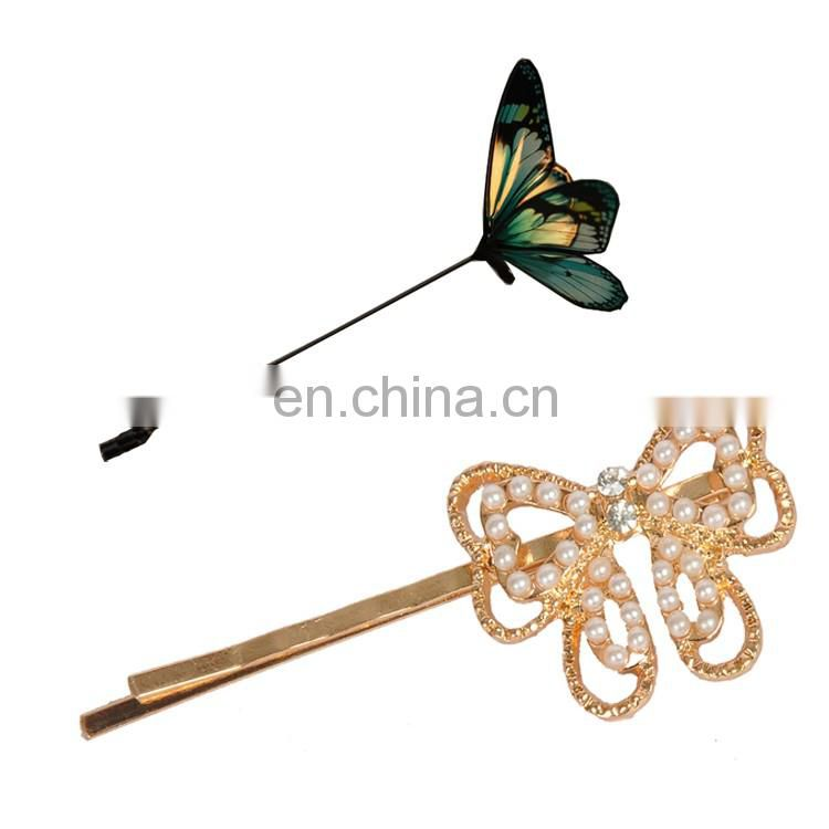 Fashion Wedding Headpiece Rhinestone U-shaped Hair Pins