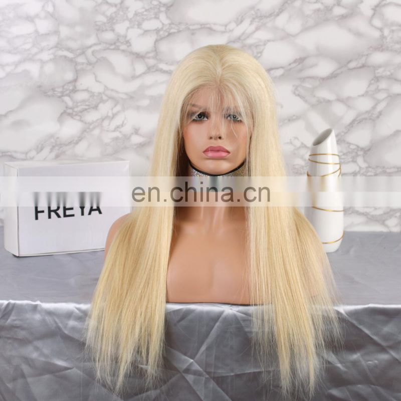 full lace high density wig brazilian human hair