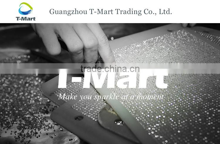New Fashion Aluminum Mesh Sheet Crystal Mesh Fabric Rhinestone