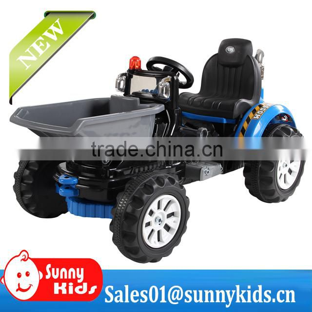 High quality kids ride on toys sand digger battery electric ride on car for children JS328