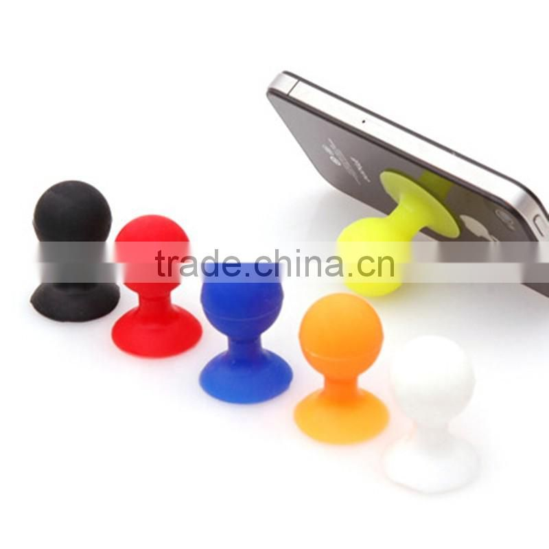 Silicone Material wholesale Novelty Design and No Charger multifunction phone holder