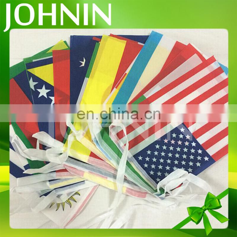 2017 Brazil World Cup 32 Teams Lot String Football Team Bunting Flags