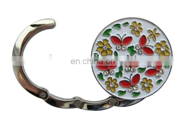 PROMOTIONAL GIFT FLOWERS CUSTOM ROUND PATTERN BAG HANGER