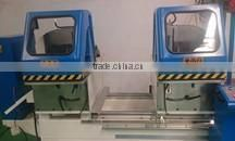 Aluminum double head cutting saw machine for making window door