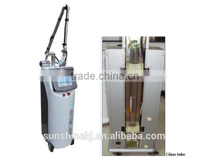 Big Discount ! 3 years warranty for 30 watt glass laser tube co2 fractional laser machine