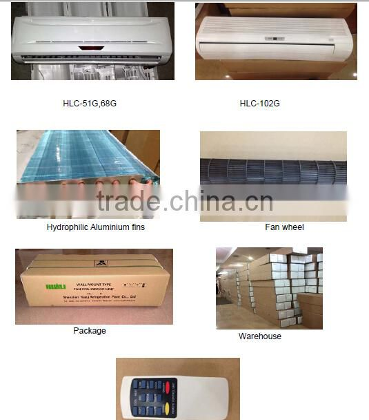 Hot Selling High Efficiency Split Type Fan Coil Unit