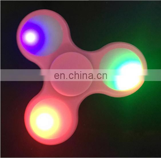 Fidget toys stress fidget hand spinner light toy
