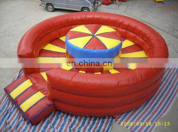 Inflatable fighting field