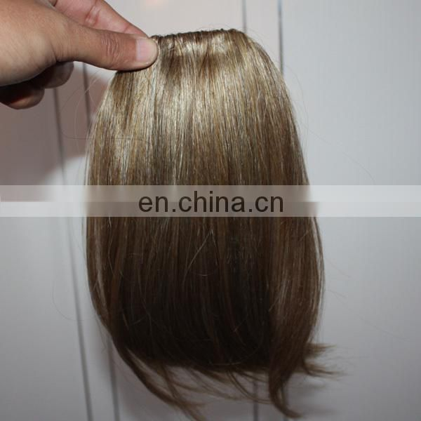Factory big stock wholesale clip on bangs for black women