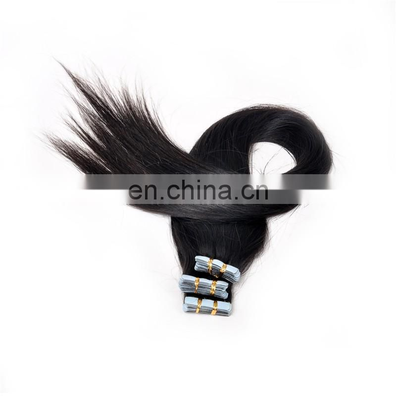 Factory Cheap Price Grade 8A Top Quality Double Drawn Tape In Hair Extensions With 100% Remy Hair