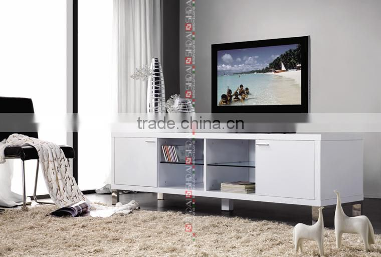 modern design wood tv stand, lcd tv stand design, mdf lcd plasma tv ...