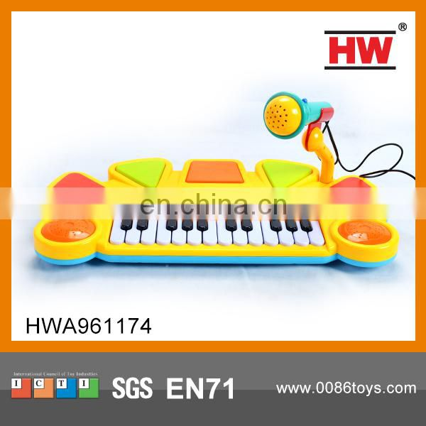 Funny Plastic Kids Toy 5 Keys Learning Piano Keyboard