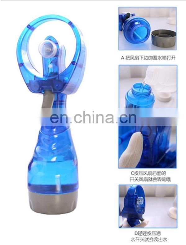 Wholesale water mist spray battery fan with CE
