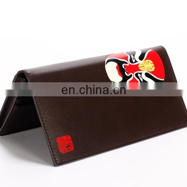 NEW UNIQUE CHINA CULTURE FEATURE CUSTOM PRINT LEATHER WALLET