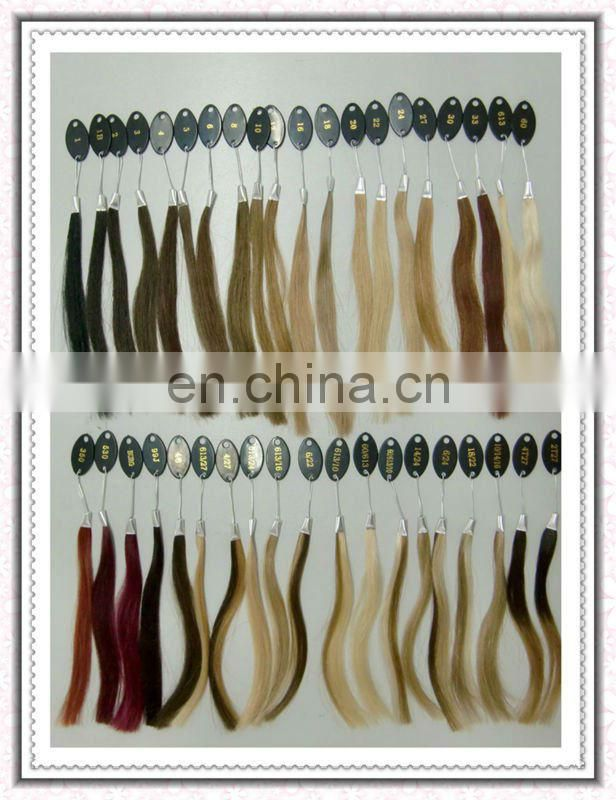 High Quality Double Drawn Pre Bond Hair Extension Virgin Human Hair Silky Straight Nail Tip Hair Extension