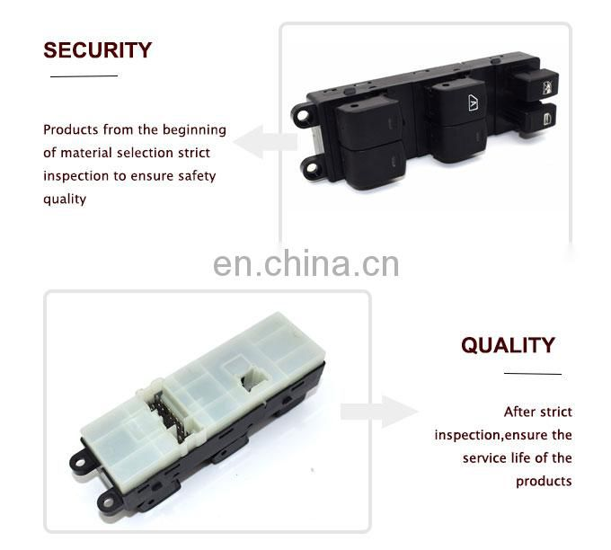Master Power Window Switch Driver Side Front LH for Nissan Pathfinder 25401-ZP40B