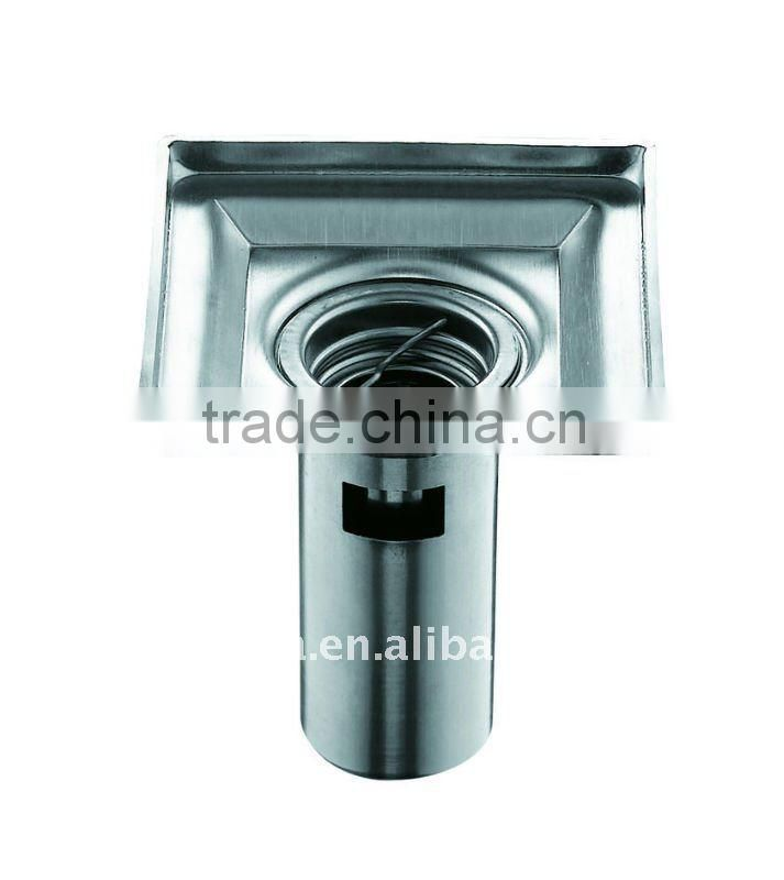 stainless steel square floor drain 100X100mm,B2812-1b