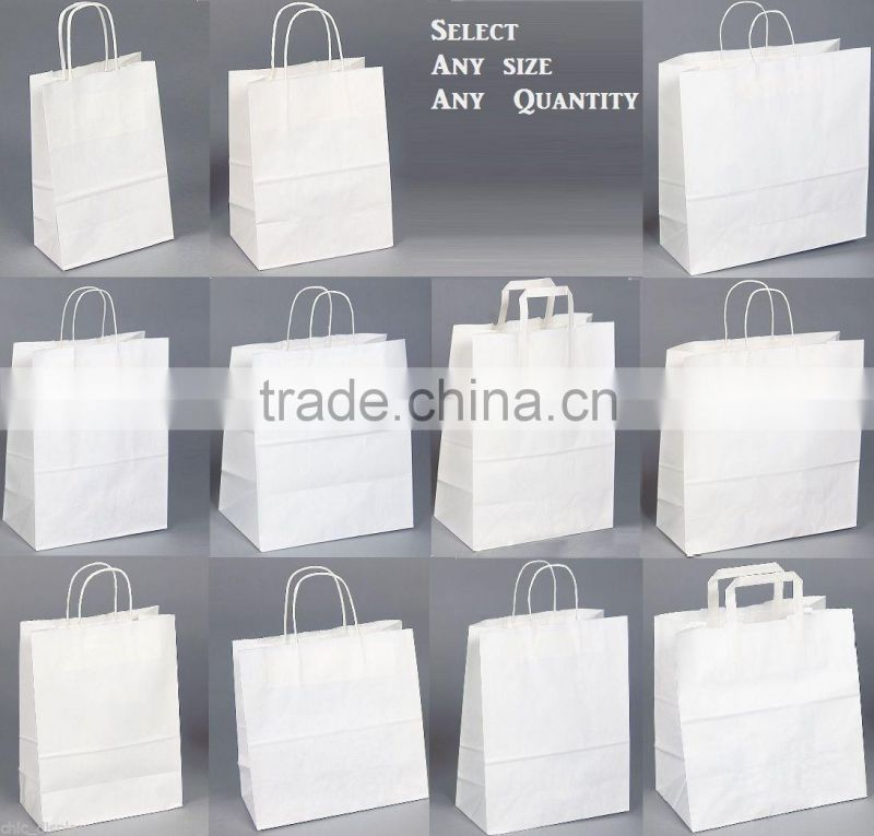 Environmental-friendly hand carry paper bags, food take away paper bags, Pastry packaging bags