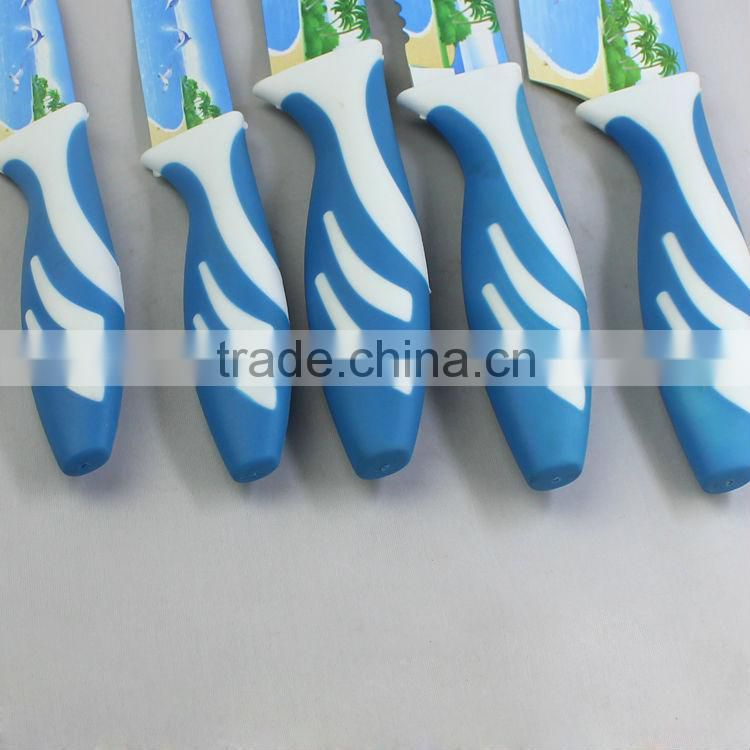 Hot selling Printing kitchen knife
