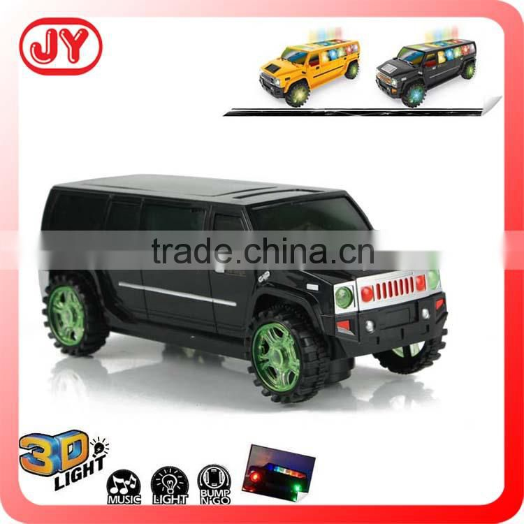 Funny 360 rotation electric car toy with flashing light