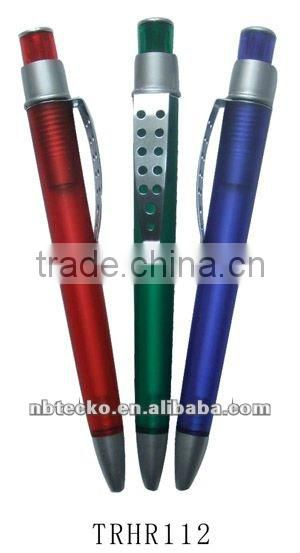 new design ballpen with metal clip