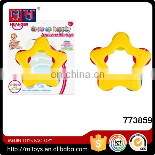 Meijin Hot nice hang babies rattle ring bell toys for wholesale