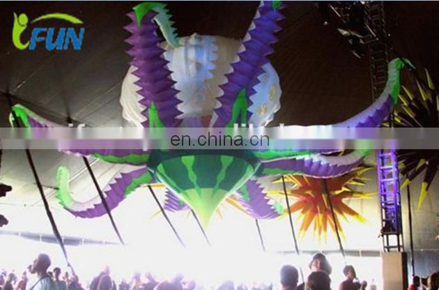 Inflatable Flowers Burst for event decoration/Customized Size Inflatable Decorative Flower/Logo Inflatable Decorative Flower