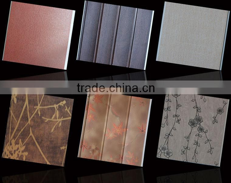 printing mobile home ceiling panel in African ,building material pvc panel ceiling china manufacturer