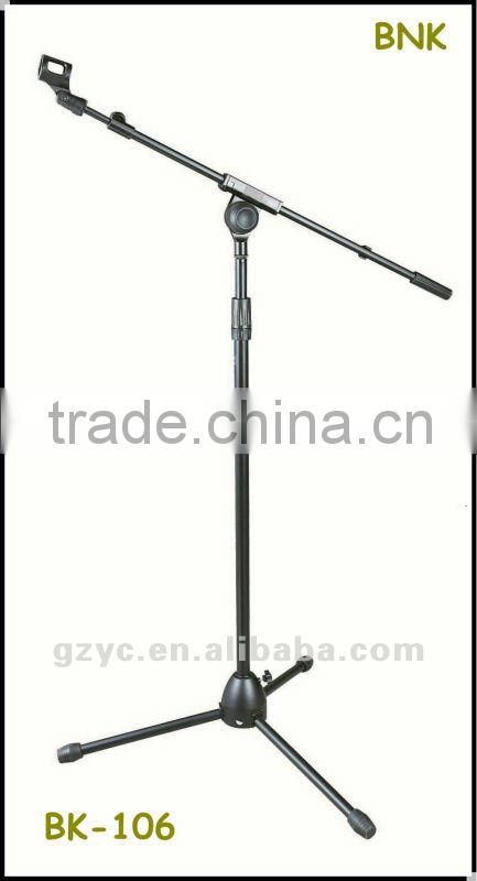 Triangle stable iron block microphone stand BK-106