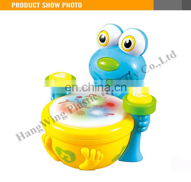 B/O Play With Music And Light Kids Drum Set