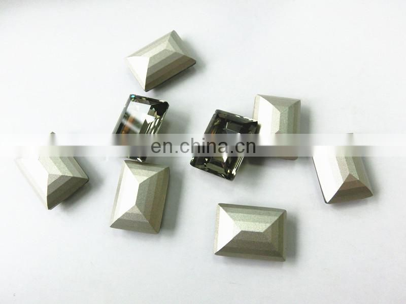Fashion Design Factory Direct Price point-back Crystal Stone