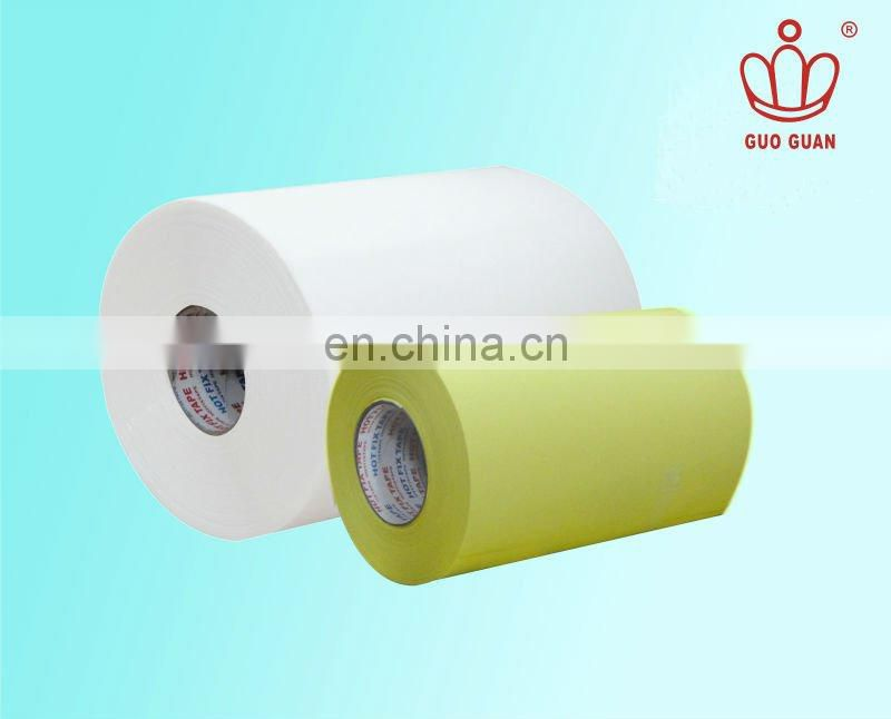 Guanguo hot fix cloth tape jumbo roll for wedding gown
