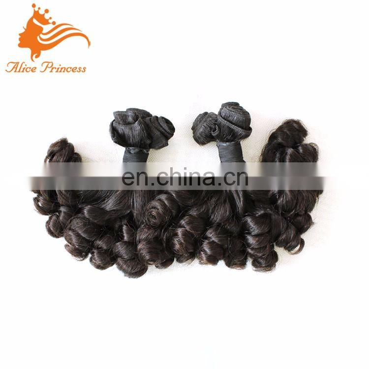 Double Drawn Fumi Weave Hair 100 Percent Brazilian Human Spring Hair Wholesale Price From Qingdao Hair Factory