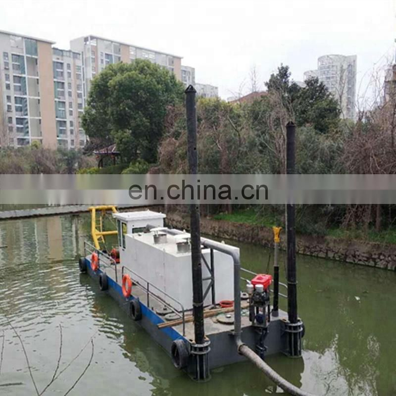 New Type Sand Cutter Suction Dredger Ship To Africa  with low price