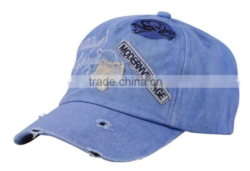 3D Embroidery Logo Cotton Material Custom Baseball Cap bulk / custom baseball cap / sports cap