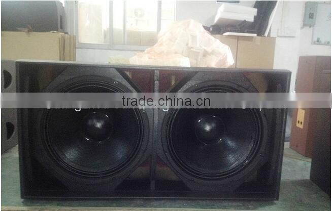 "public theater 2000W subass system big high power pro audio Dual 18"" subwoofer home equipment speaker box"