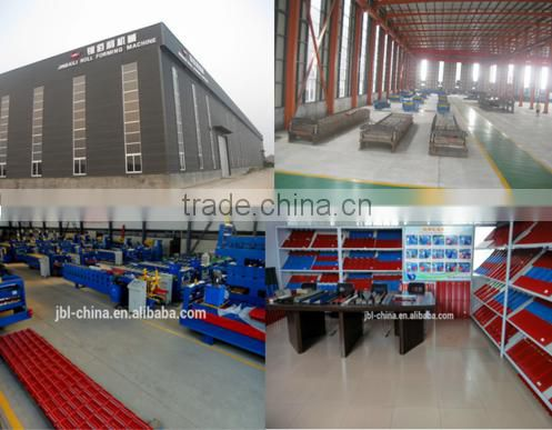 professional Door frame automatic galvanized steel plate roller shutter door frame cold roll forming machine