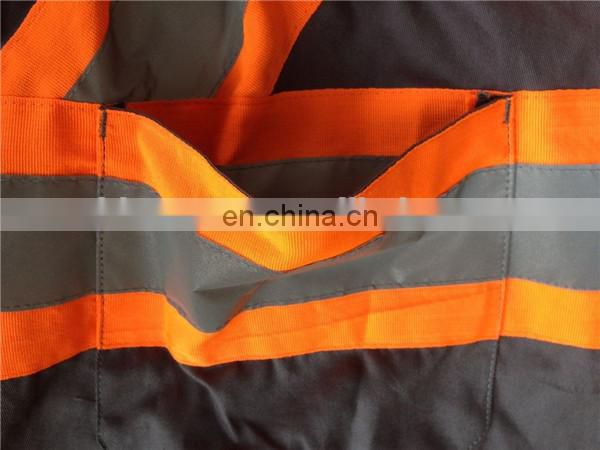 Hi vis coverall,safety coverall,reflective coverall