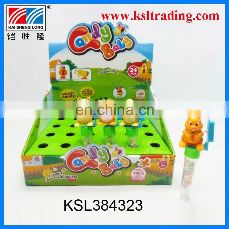 24PCS wind up hickwall plastic toy candy