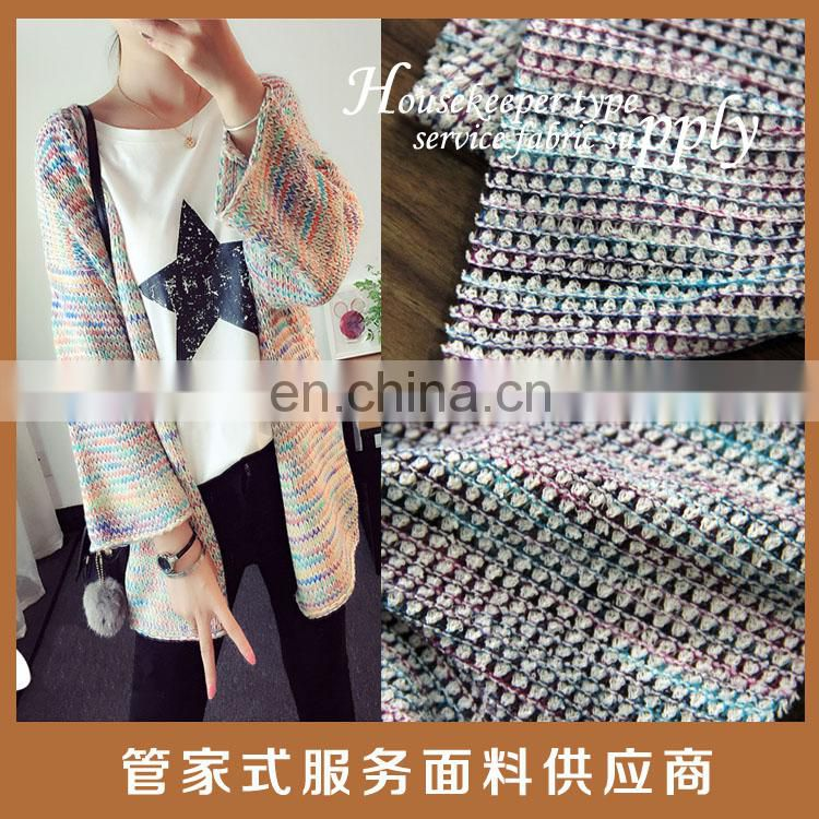 2016 knit fabric for lady garments single tr jersey fabric