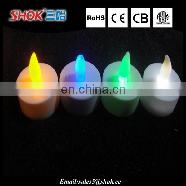Outdoor Decoration Electric Floating Led Candles