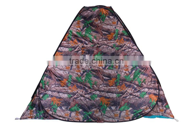 3-4 person camouflage four corner shower tent toilet shelter bathroom fitting room