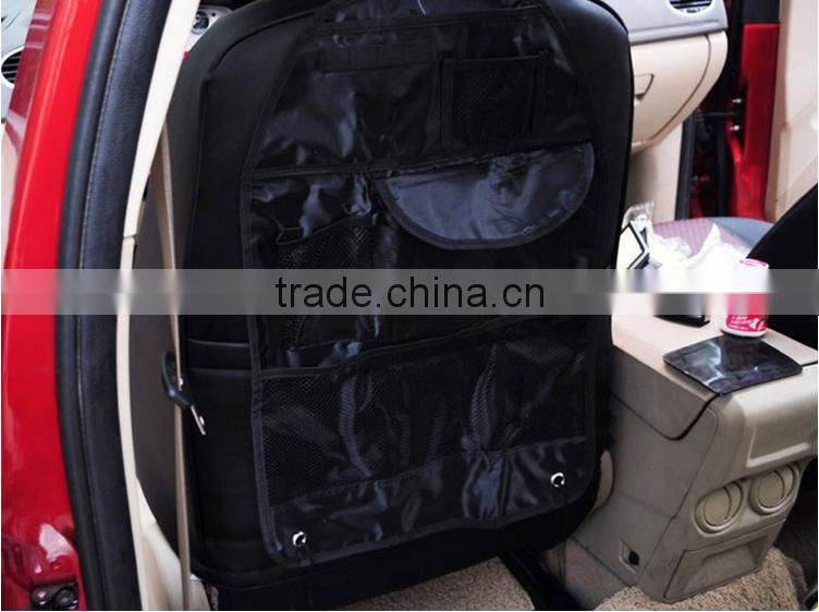 New Promotion Car Accessories Seat Covers bag Storage multi Pocket Organizer car seat Bag of Back seat of chair Free shipping