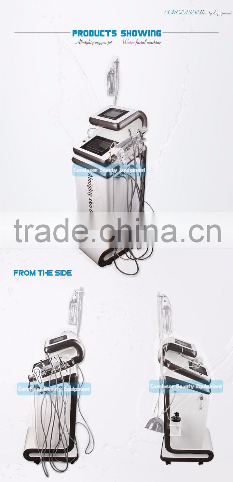 OME/ODM Portable Oxygen Jet Peel Beauty Machine